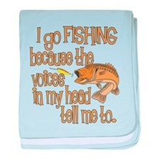 Why do you fish? Infant Blanket