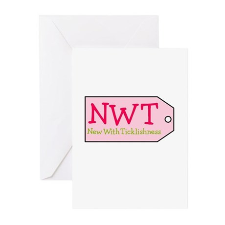 New With Ticklishness Greeting Cards (Pk of 10)