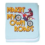 Own Roads - Dirt Bike Infant Blanket
