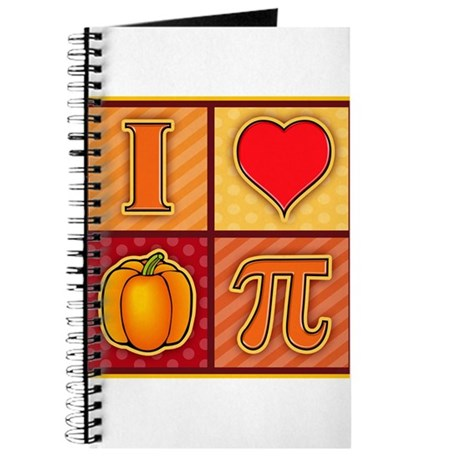 I Love Pumpkin Pie Journal