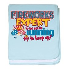 Fireworks Expert Infant Blanket
