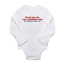 I'll Ask You Out Long Sleeve Infant Bodysuit