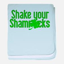 Shake Your Shamrocks! baby blanket
