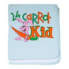 24 Carrot Kid Infant Blanket