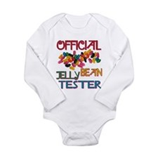 Jelly Bean Tester Long Sleeve Infant Bodysuit