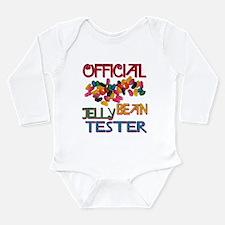 Jelly Bean Tester Long Sleeve Infant Bodysuit