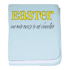 Easter - Chocolate Infant Blanket