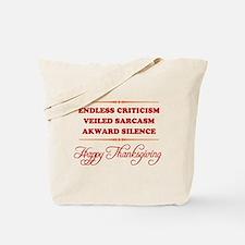 Endless Criticism, Veiled Sar Tote Bag