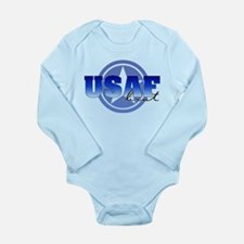Unique Dogtags Long Sleeve Infant Bodysuit