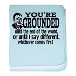 You're Grounded! Infant Blanket