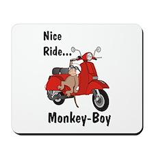 Classic ScooterMonkey Mousepad
