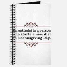 Thanksgiving Day Optimist Journal