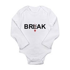 Physics of Martial Arts Long Sleeve Infant Bodysui