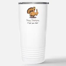 Bird Flipping Bird Thermos Mug