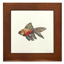 Goldfish Framed Tile