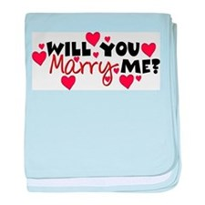 Will You Marry Me? Infant Blanket