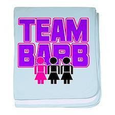 Team Barb Infant Blanket