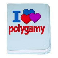 I Love Polygamy Infant Blanket
