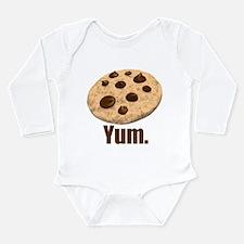 Yum. Cookie Long Sleeve Infant Bodysuit