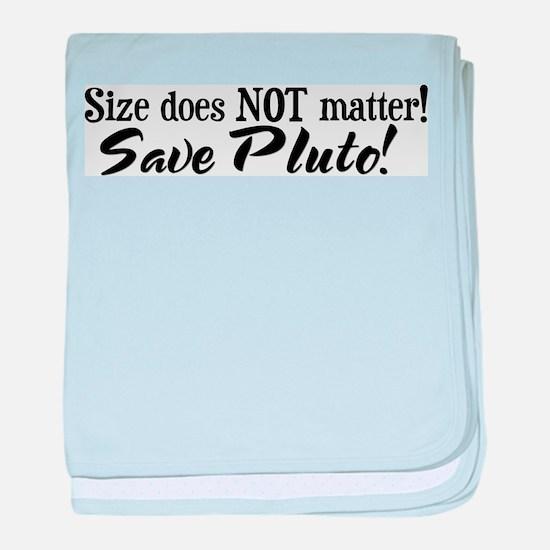 Save Pluto Infant Blanket