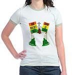 GOD DOESN'T HATE Jr. Ringer T-Shirt