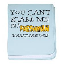 Freshman Scare Infant Blanket