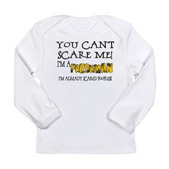 Freshman Scare Long Sleeve Infant T-Shirt