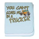 No Fear Trucker Infant Blanket