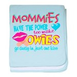 Just One Kiss Infant Blanket