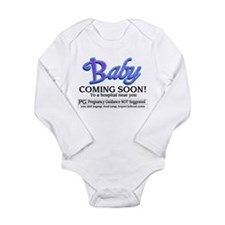 Baby - Coming Soon! Long Sleeve Infant Bodysuit