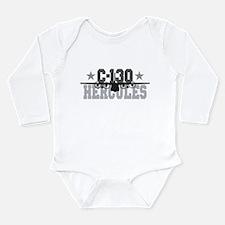 C-130 Hercules Long Sleeve Infant Bodysuit