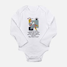 Little Miss Muffet Long Sleeve Infant Bodysuit