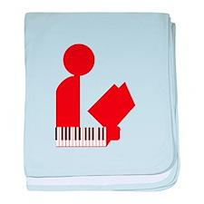 Music Librarian Infant Blanket
