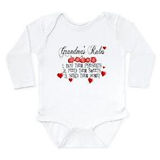 Grandma's Rules Long Sleeve Infant Bodysuit