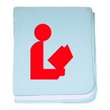 Library Love Logo Infant Blanket