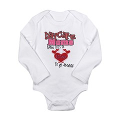 Lots of Love Daycare Moms Long Sleeve Infant Bodys