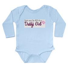 Daddy's Girl Long Sleeve Infant Bodysuit