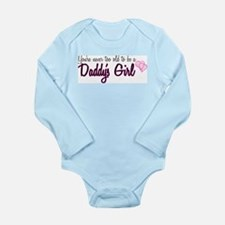 Daddy's Girl Long Sleeve Infant Bodysuit