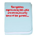 Child's Opinion Infant Blanket