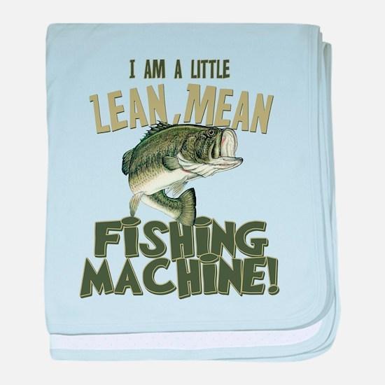 Lean Mean Fishing Machine Infant Blanket