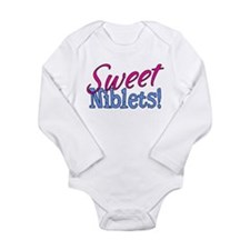 Sweet Niblets Quote Long Sleeve Infant Bodysuit