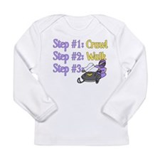Step 1... Step 2... Long Sleeve Infant T-Shirt