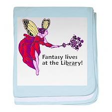 Fantasy lives at the Library! Infant Blanket