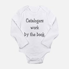 Catalogers work by the book. Long Sleeve Infant Bo