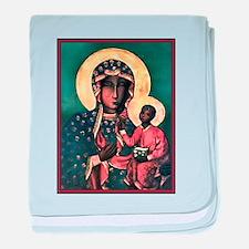 Black Madonna Infant Blanket