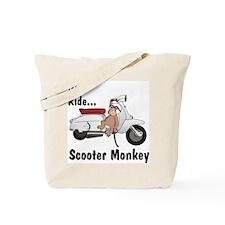 ScooterMonkey Lambretta Tote Bag