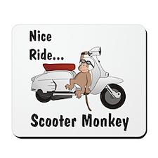 ScooterMonkey Lambretta Mousepad