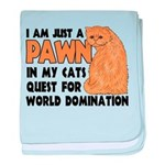 Cat's World Domination Infant Blanket