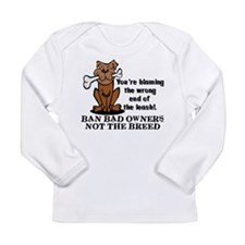 Ban Bad Owners Long Sleeve Infant T-Shirt