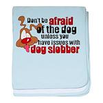 Dog Slobber Infant Blanket